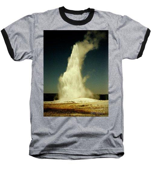 Vintage Old Faithful Baseball T-Shirt