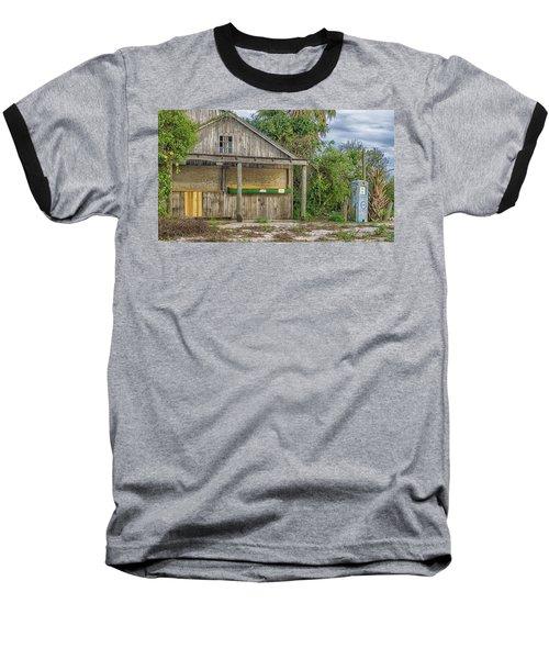 Vintage Orange Stand Baseball T-Shirt