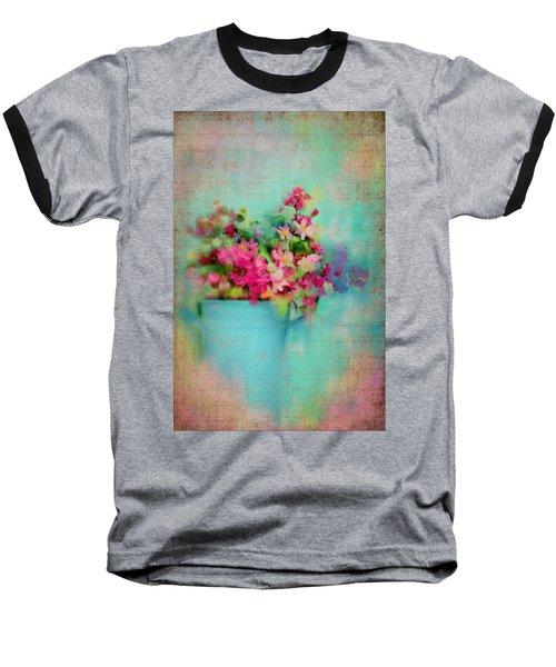 Flowers From A Cottage Garden Baseball T-Shirt