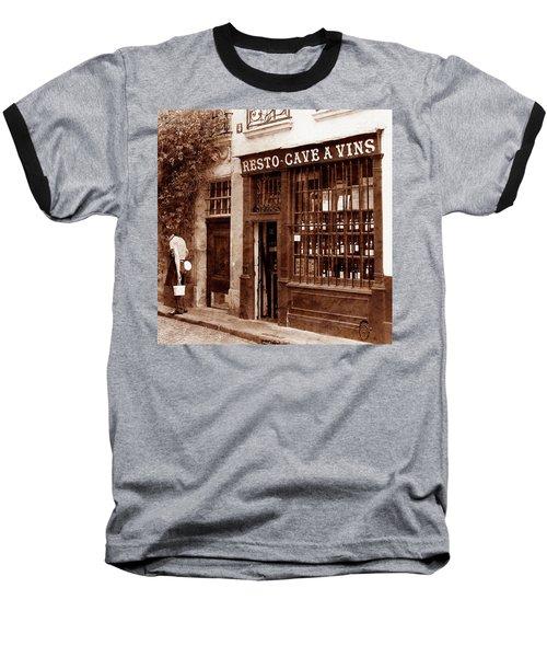 Vintage Paris 3 Baseball T-Shirt