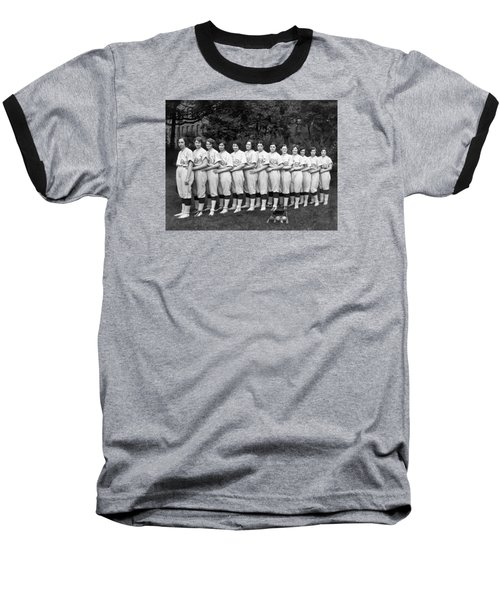 Vintage Photo Of Women's Baseball Team Baseball T-Shirt by American School