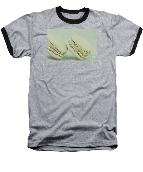 Vintage  Pistachio Macarons Baseball T-Shirt