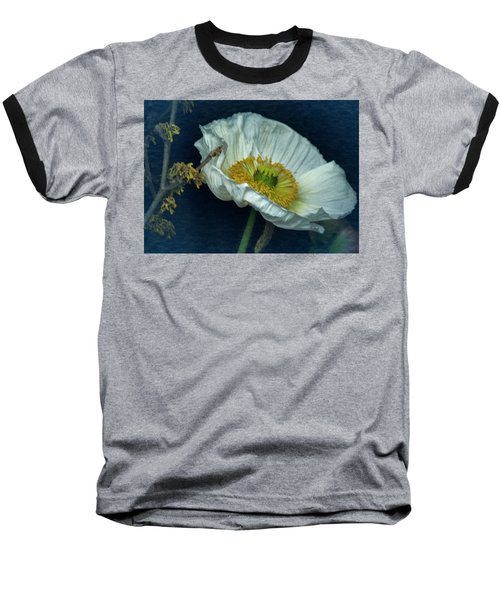 Vintage Poppy 2017 No. 2 Baseball T-Shirt by Richard Cummings
