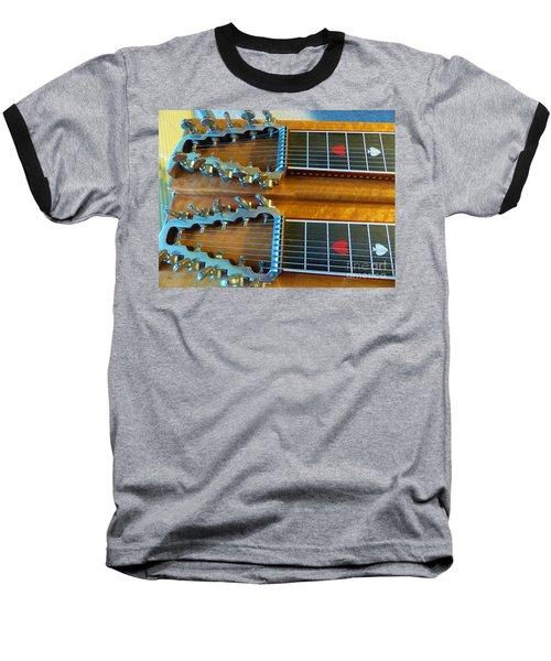 Vintage Sho-bud Pedal Steel Baseball T-Shirt