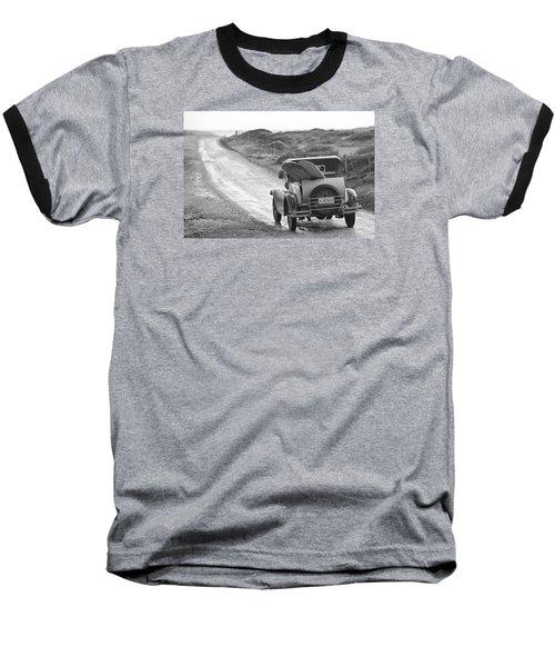 Vintage Surf Baseball T-Shirt