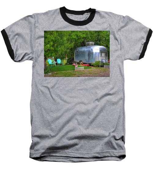 Vintage Trailer Baseball T-Shirt