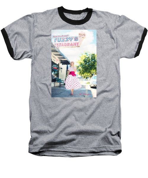 Vintage Val Ice Cream Parlor Baseball T-Shirt