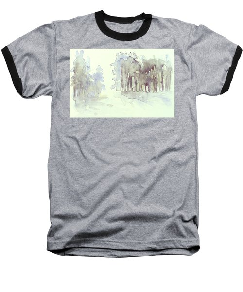 Vintrig Skogsglanta, A Wintry Glade In The Woods 2,83 Mb_0047 Up To 60 X 40 Cm Baseball T-Shirt