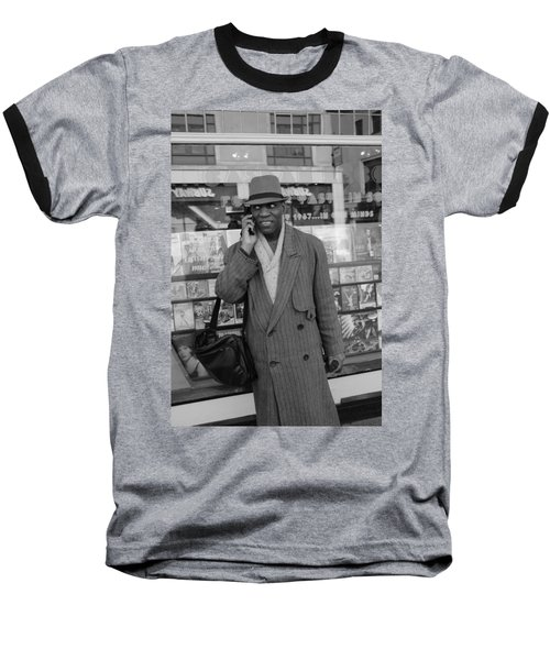Vinyl Baseball T-Shirt