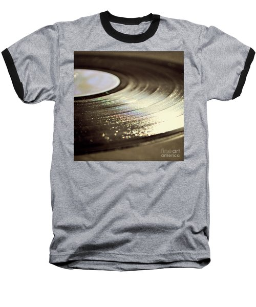 Baseball T-Shirt featuring the photograph Vinyl Record by Lyn Randle