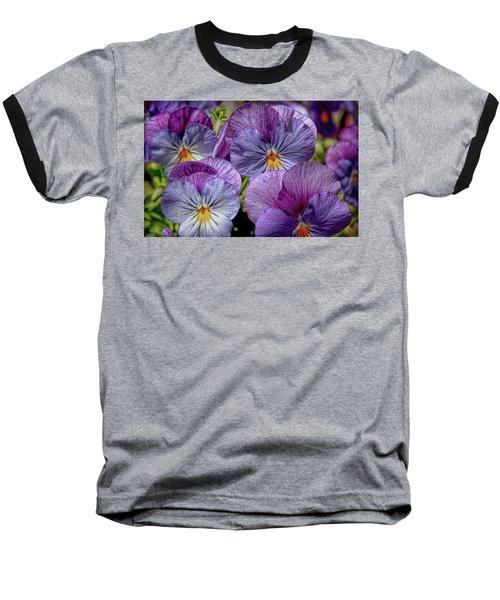 Baseball T-Shirt featuring the photograph Viola by Bonnie Willis