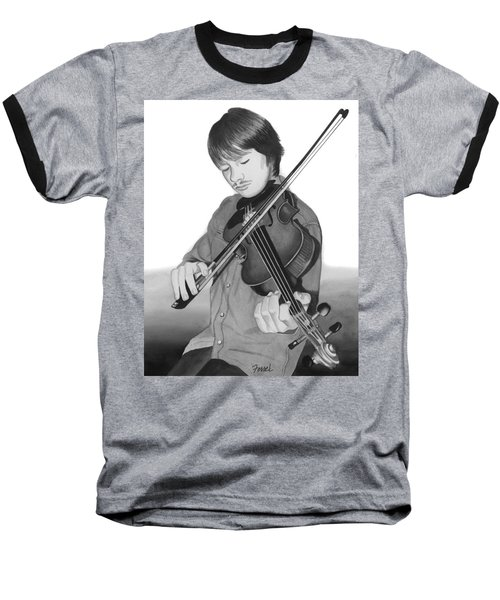 Viola Master Baseball T-Shirt by Ferrel Cordle