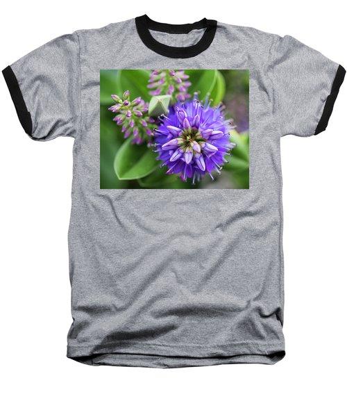 Violet Burst Baseball T-Shirt