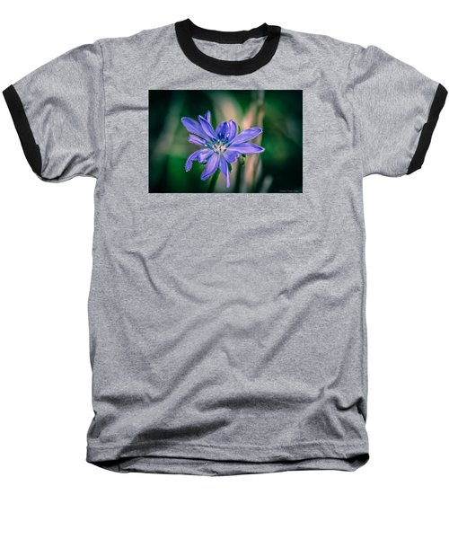 Baseball T-Shirt featuring the photograph Violet by Michaela Preston