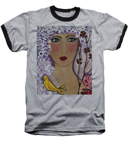 Violet Queen Baseball T-Shirt