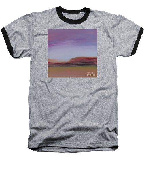 Violet Skies Baseball T-Shirt