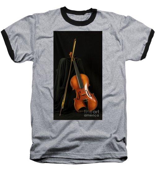 Violin And Bow Baseball T-Shirt