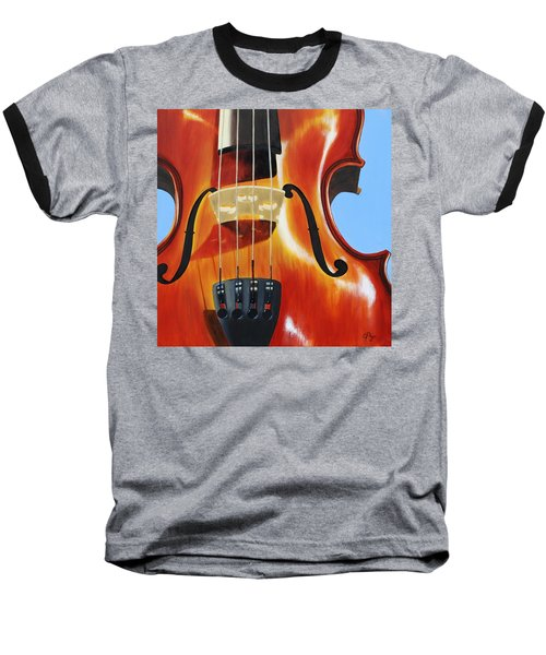 Violin Baseball T-Shirt