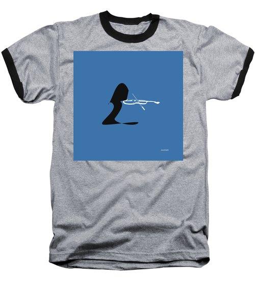 Violin In Blue Baseball T-Shirt