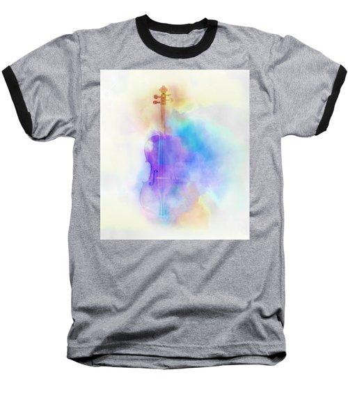 Violin Baseball T-Shirt by Scott Meyer