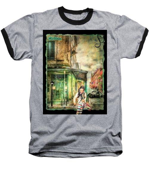 Violinist Evening Baseball T-Shirt