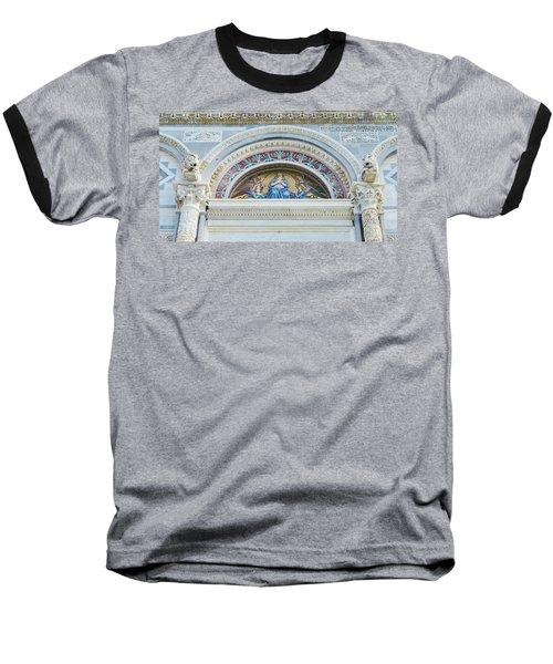 Virgin Mary Baseball T-Shirt