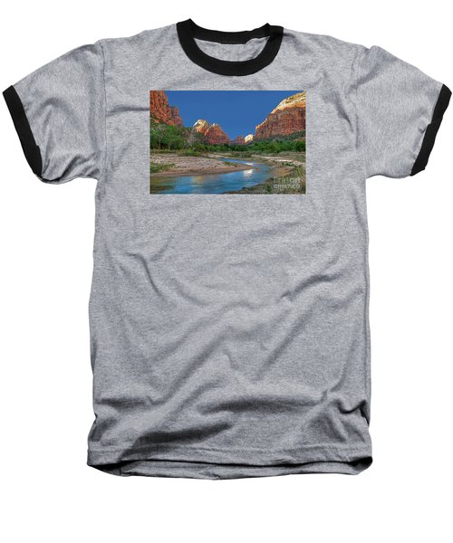 Virgin River Bend Baseball T-Shirt