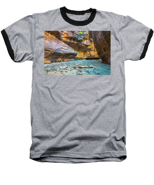 Virgin River Narrows Baseball T-Shirt