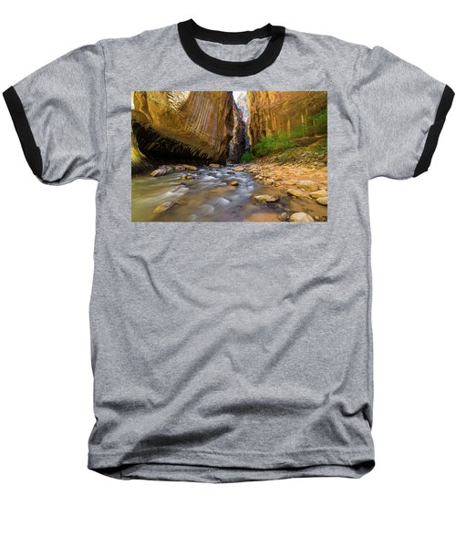 Virgin River - Zion National Park Baseball T-Shirt