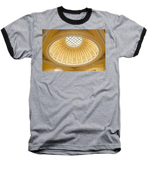 Virginia Capitol - Dome Profile Baseball T-Shirt