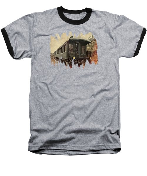 Virginia City Pullman Baseball T-Shirt by Thom Zehrfeld