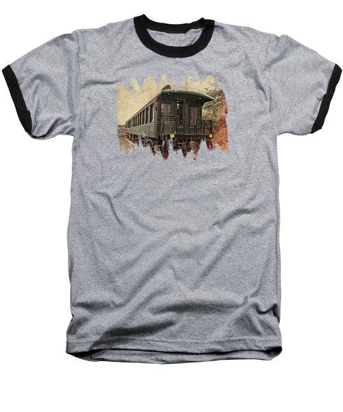 Virginia City Pullman Car Baseball T-Shirt