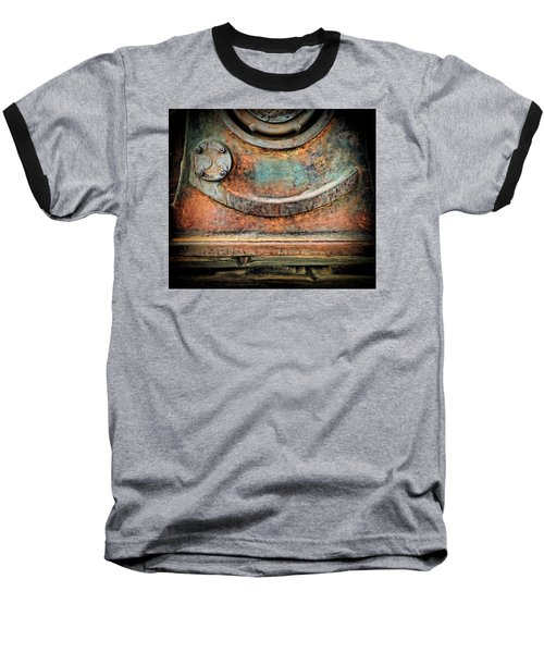 Baseball T-Shirt featuring the photograph Virginia City Rust by Steve Siri