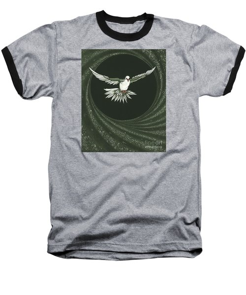 Viriditas-holy Spirit Detail Baseball T-Shirt by William Hart McNichols