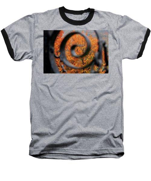 Vision Baseball T-Shirt by Sheila Ping