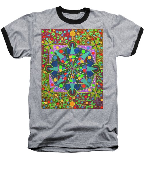 Vision - The Dna Of Plants Baseball T-Shirt