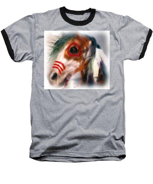 Visionary War Horse Baseball T-Shirt
