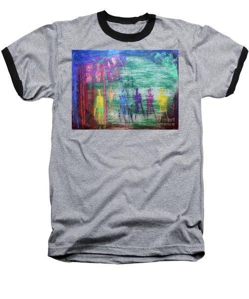 Visions Of Future Beings Baseball T-Shirt