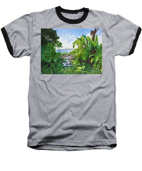 Visions Of Paradise Ix Baseball T-Shirt by Michael Frank