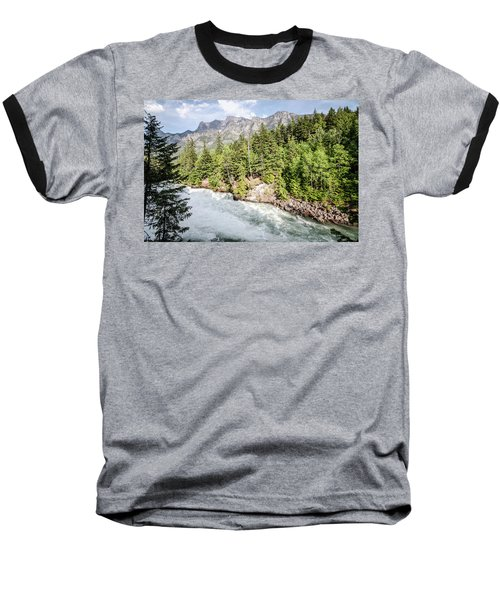 Baseball T-Shirt featuring the photograph Visit Montana by Margaret Pitcher