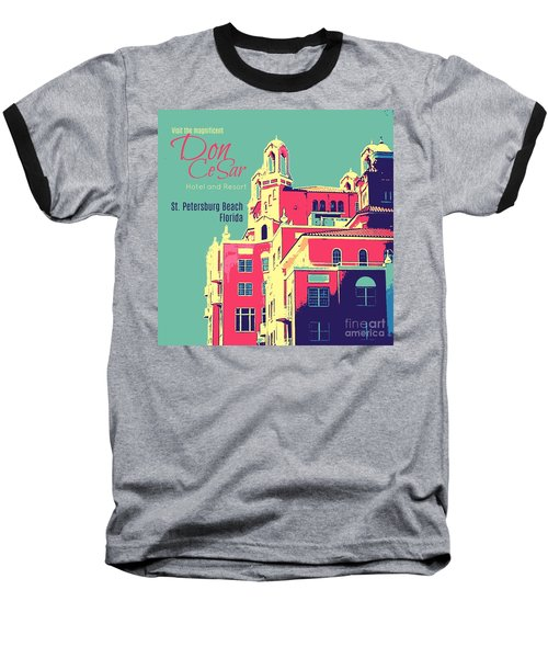 Visit The Don Cesar Baseball T-Shirt