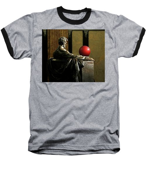 Baseball T-Shirt featuring the photograph Visiting Lincoln by Christopher McKenzie