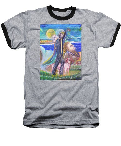 Visiting Star Beings Baseball T-Shirt