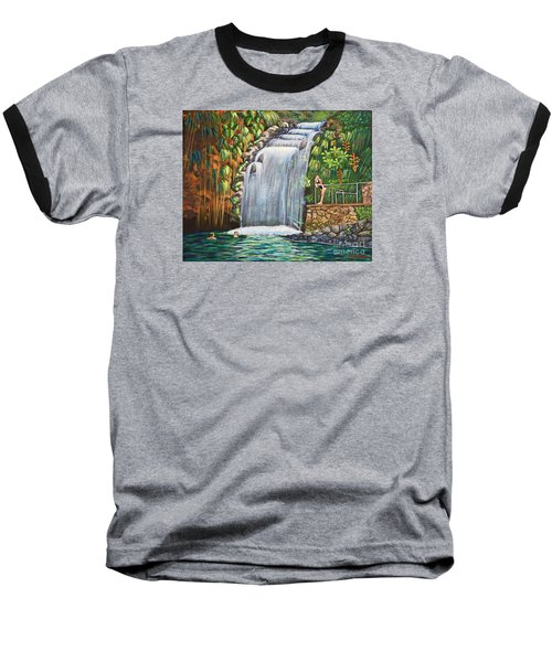 Visitors To The Falls Baseball T-Shirt