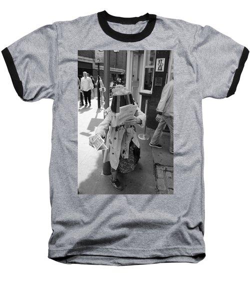 Visored Baseball T-Shirt