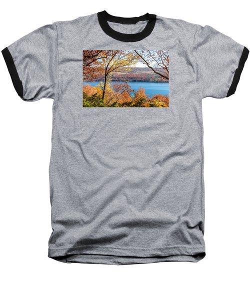Vista From Garrett Chapel Baseball T-Shirt by William Norton