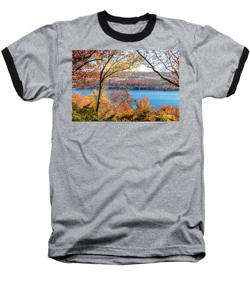 Vista From Garrett Chapel Baseball T-Shirt