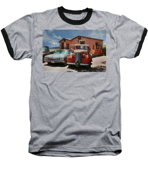 Baseball T-Shirt featuring the photograph Vista Motel by Lori Deiter