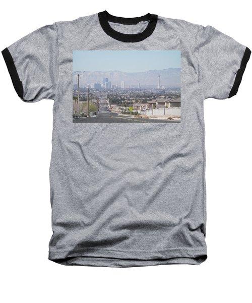 Vista Vegas Baseball T-Shirt