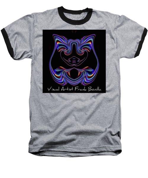 Visual Artist Frank Bonilla Logo Baseball T-Shirt